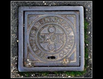 Rome Manhole Cover