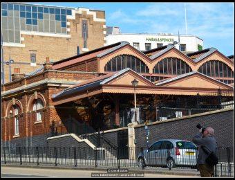 Len Outside Moor St Station