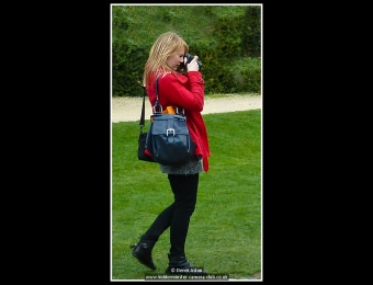 What is She Photographing?