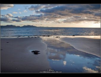 Newborough Beach at Dusk