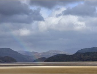 Rainbow over Barmouth Estuary