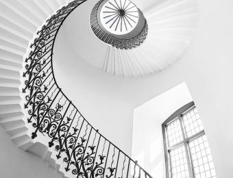 Tulip Staircase - Gold Mono