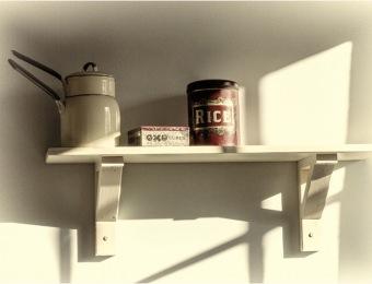 left on the shelf