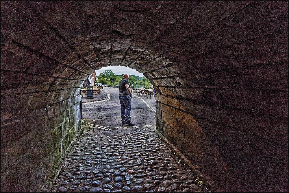 View Under Bewdley Bridge